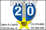 HiWay 20 Liquor and Tobacco Outlet