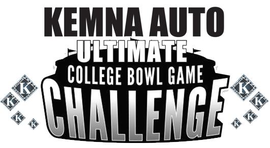 Kemna of Fort Dodge College Bowl Game Challenge
